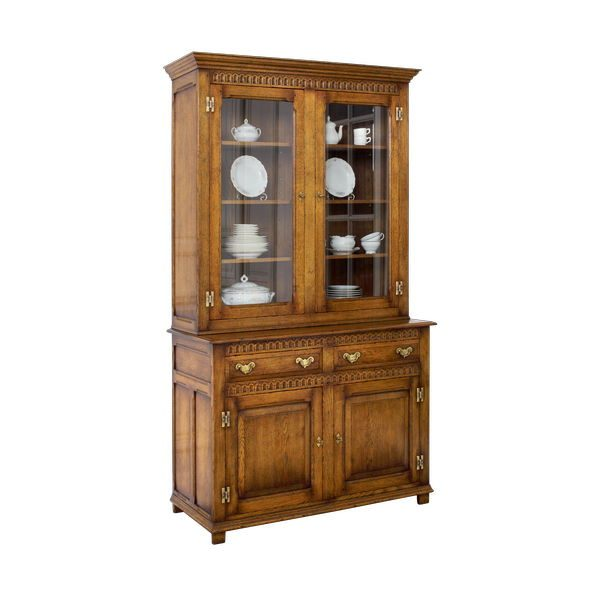 Living Room Storage Cabinet - Oak Dressers & Cupboards - Tudor Oak, UK