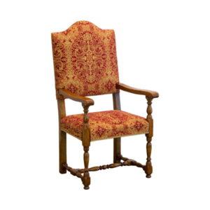 Classic Arm Chair - Bespoke Oak Dining Chairs - Tudor Oak, UK