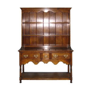 Small Dresser - Solid Oak Dressers & Cupboards - Tudor Oak, UK