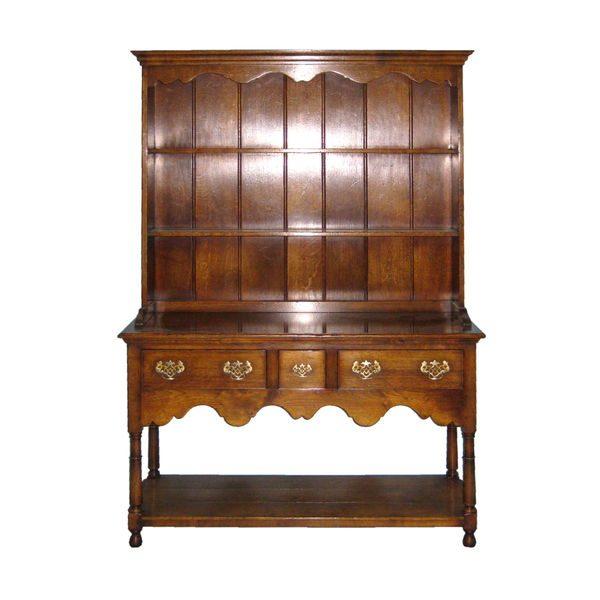 Small Dresser - Solid Oak Dressers & Cupboards - Tudor Oak, UK