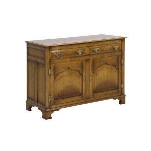 English Oak Sideboard Cabinet - Solid Wood Sideboards - Tudor Oak, UK