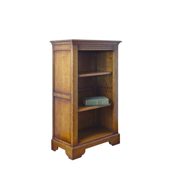 Small Bookshelves - Solid Oak Bookcases & Bookshelves - Tudor Oak, UK