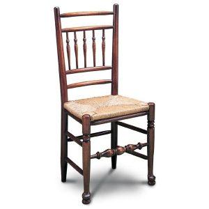 Lancashire Spindle Back Chair - Oak Windsor Chairs - Tudor Oak, UK