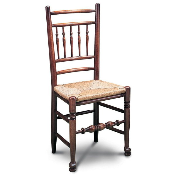 Lancashire Spindle Back Chair - Oak Windsor Chairs - Tudor Oak, UK