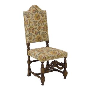 Carved Chair - Traditional Wooden Dining Chairs - Tudor Oak, UK
