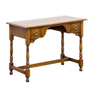 Small Dressing Table - Solid Oak Dressing Tables - Tudor Oak, UK