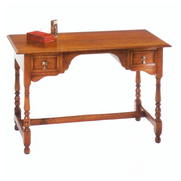 English Oak Dressing Table - Solid Oak Dressing Tables - Tudor Oak, UK