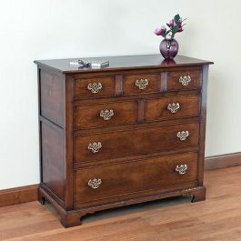 Wooden Chest of Drawers - Solid Oak Chests of Drawers - Tudor Oak, UK