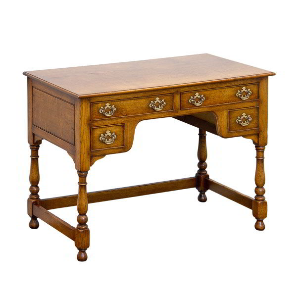 Dressing Table with Drawers - Solid Oak Dressing Tables - Tudor Oak UK