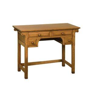 Rustic Dressing Table - Modern Oak Furniture - Tudor Oak, UK