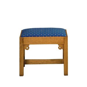 Rustic Stool - Modern Oak Furniture - Tudor Oak, UK