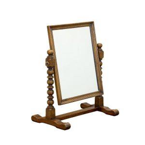 Oak Dressing Table Mirror - Dressing Table Mirrors - Tudor Oak, UK