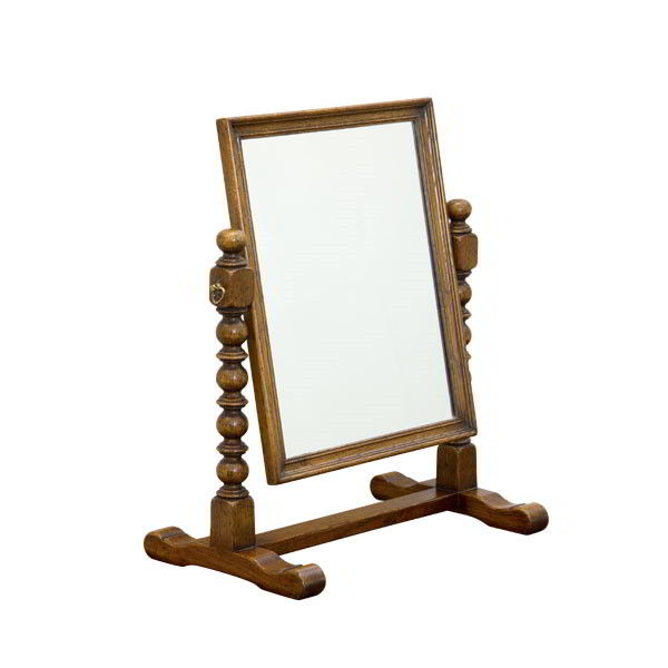Oak Dressing Table Mirror - Dressing Table Mirrors - Tudor Oak, UK