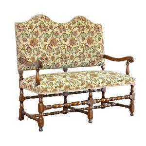 Hallway Bench Seat - Oak Benches, Settles & Stools - Tudor Oak, UK