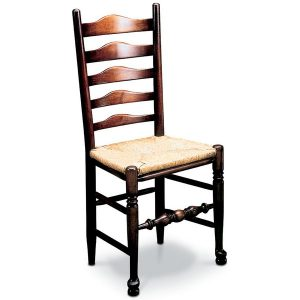 Classic Ladderback Chair - Traditional Windsor Chairs - Tudor Oak, UK