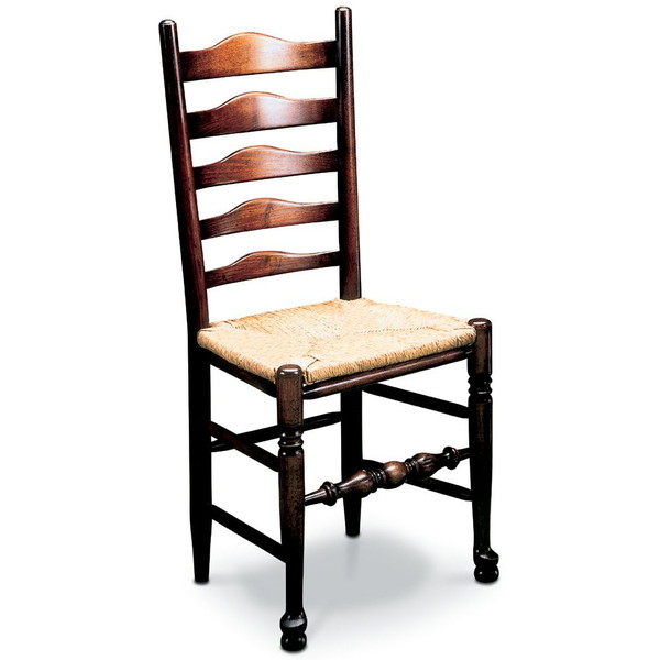 Classic Ladderback Chair - Traditional Windsor Chairs - Tudor Oak, UK