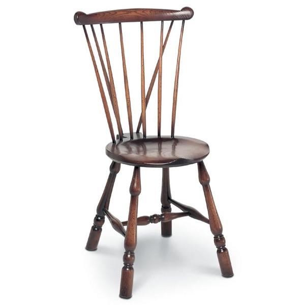 Goldsmith Chair - Traditional Oak Windsor Chairs - Tudor Oak, UK