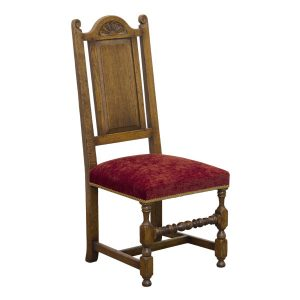 Traditional Wooden Dining Chair - Oak Dining Chairs - Tudor Oak, UK