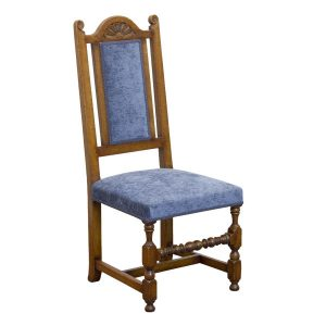 Traditional Chair - Bespoke Wooden Dining Chairs - Tudor Oak, UK