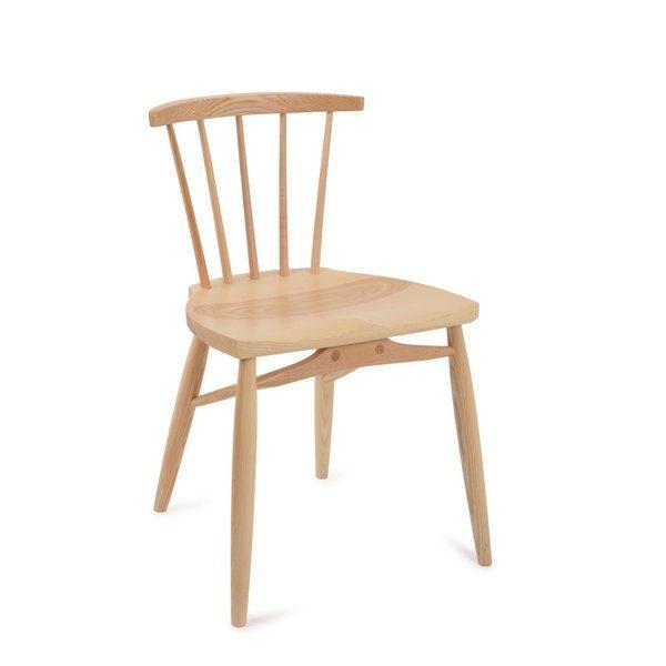 Clissett Contemporary Dining Chair - Modern Windsor - Tudor Oak, UK