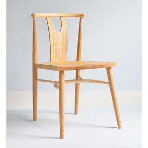 Evie Chair - In the Style of Wishbone Chair - Tudor Oak, UK