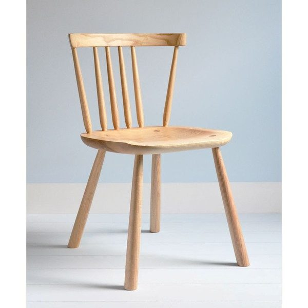 Pembroke Modern Welsh Stick Chair - Modern Windsor - Tudor Oak, UK