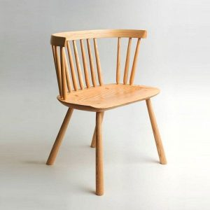 Pembroke Designer Dining Room Chair with Arms - Tudor Oak, UK