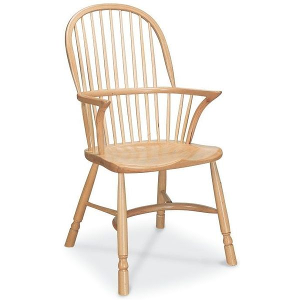 Richmond Modern Oak Dining Chair with Arms - Tudor Oak, UK