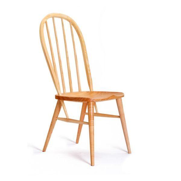 Arden Modern Dining Chair - Modern Windsor Chairs - Tudor Oak, UK