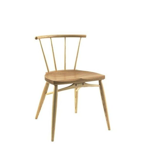 Bosbury Designer Dining Chair - Modern Windsor Chairs - Tudor Oak, UK