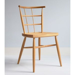 Tenta Modern Dining Room Chair - Modern Windsor Chairs - Tudor Oak, UK