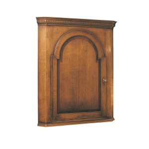 Wall Mounted Cupboard - Solid Oak Dressers & Cupboards - Tudor Oak, UK