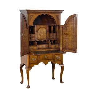 Writing Desk Bureau - Solid Oak Writing Bureau Desks - Tudor Oak, UK