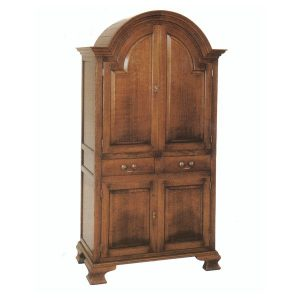 Solid Oak Drinks Cabinet - Oak Display & Wine Cabinets - Tudor Oak, UK