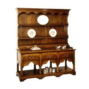 Dresser for Dining Room - Oak Dressers & Cupboards - Tudor Oak, UK