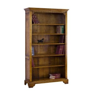 Tall Bookshelves - Solid Oak Bookcases & Bookshelves - Tudor Oak, UK