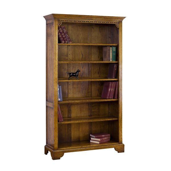 Tall Bookshelves - Solid Oak Bookcases & Bookshelves - Tudor Oak, UK