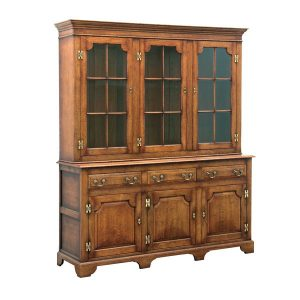 Oak Dresser Cabinet - Solid Wood Dressers & Cupboards - Tudor Oak, UK