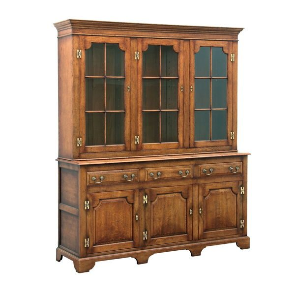 Oak Dresser Cabinet - Solid Wood Dressers & Cupboards - Tudor Oak, UK