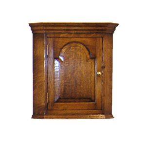 Oak Wall Cabinet - Solid Wood Dressers & Cupboards - Tudor Oak, UK
