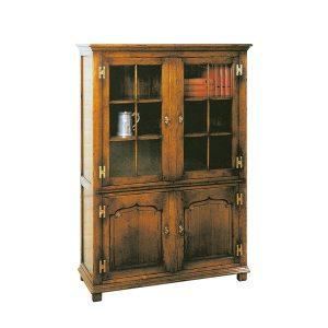 Small Bookcase - Solid Oak Bookcases & Bookshelves - Tudor Oak, UK