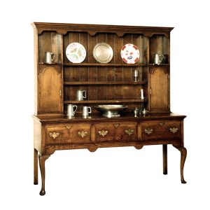 Dining Room Dresser - Solid Oak Dressers & Cupboards - Tudor Oak, UK