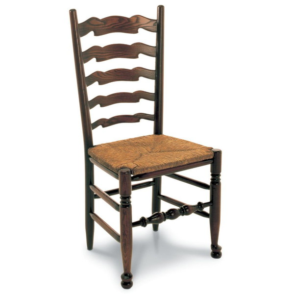 West Midlands Ladder Back Chair - Oak Windsor Chairs - Tudor Oak, UK