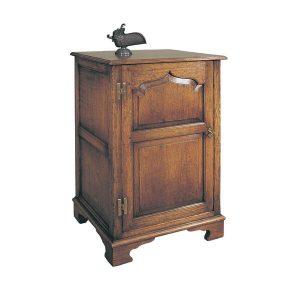Wooden Hi Fi Unit - Oak TV Cabinets & Media Units - Tudor Oak, UK