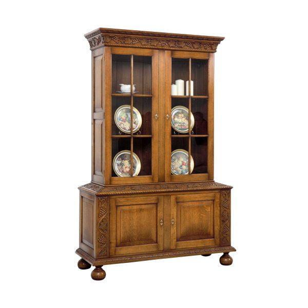 Living Room Cabinet - Solid Oak Dressers & Cupboards - Tudor Oak, UK