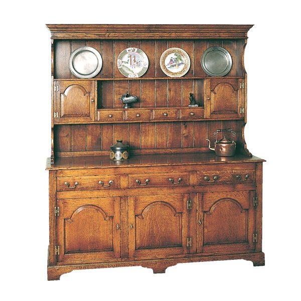 Oak Dresser - Solid Wood Dressers & Cupboards - Tudor Oak, UK