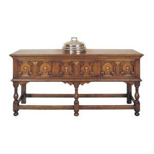 Sideboard with Drawers - Solid Oak Sideboards - Tudor Oak, UK