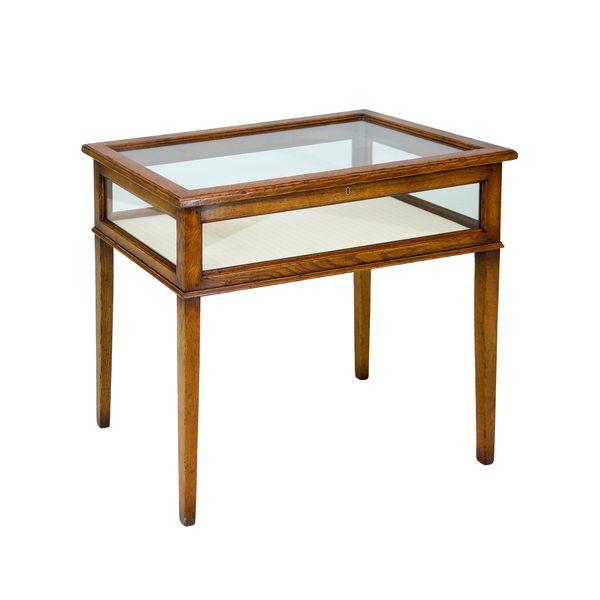 Small Oak Display Unit - Oak Wine & Display Cabinets - Tudor Oak, UK