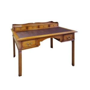 Writing Desk with Hutch - Solid Oak Desks & Writing Tables - Tudor Oak