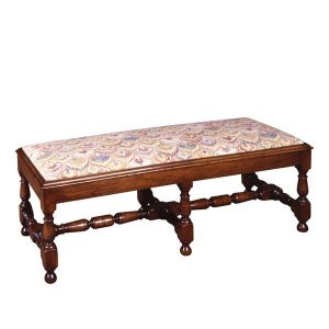 Large Footstool - Oak Benches, Settles & Stools - Tudor Oak, UK